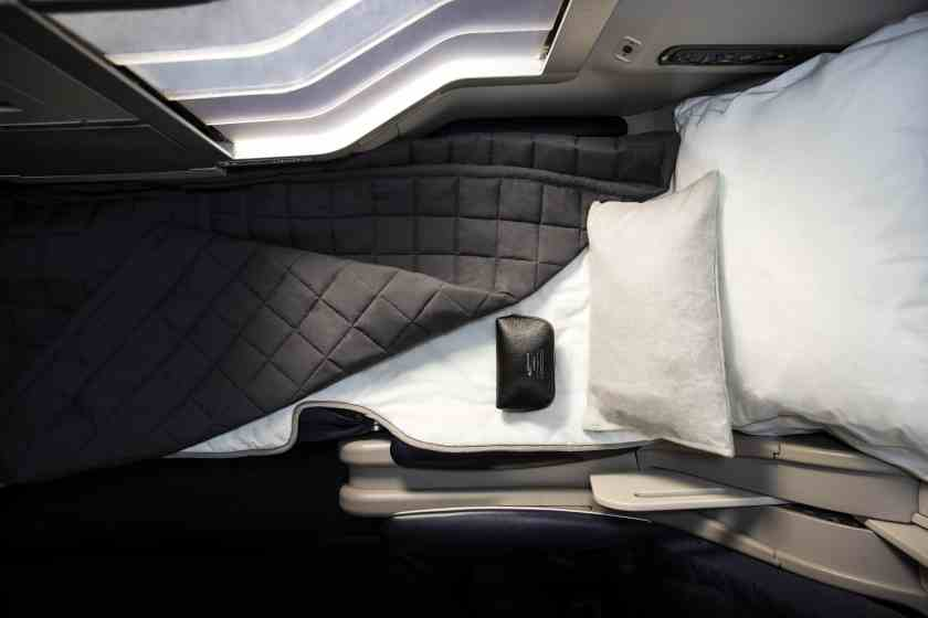 New British Airways Club World Bedding from The White Company