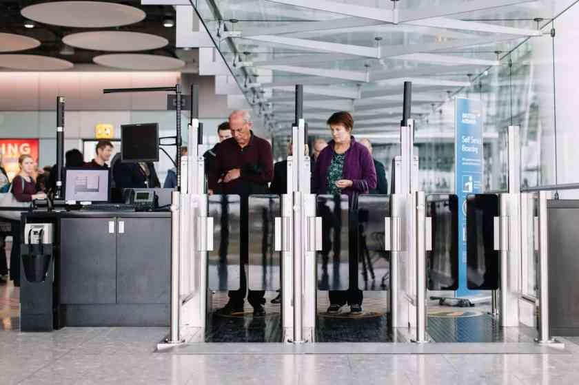 British Airways Self Boarding Gates - London Heathrow Terminal 5