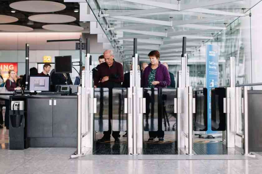 British Airways Self Boarding Gates - London Heathrow Terminal 5