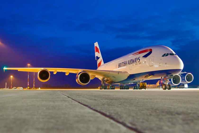 BA Airbus A380 (Image Credit: British Airways)