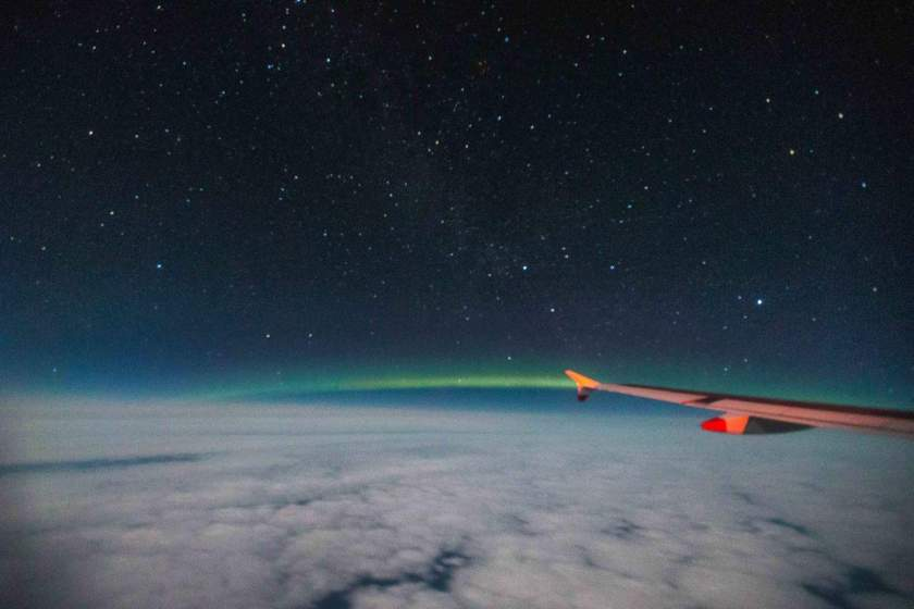 British Airways & Aerobility Charter Flight to see the Northern Lights, Saturday 24 February 2018