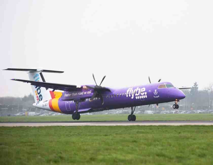 Flybe Bombardier Dash 8 Aircraft