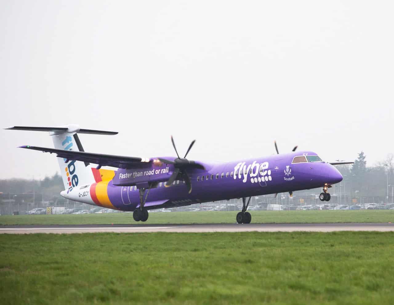 Resultado de imagen para Flybe Bombardier 8-Q400
