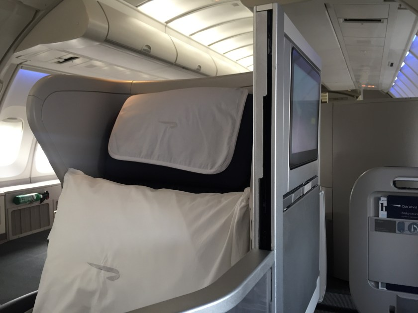 BA Club World Seat Pillow