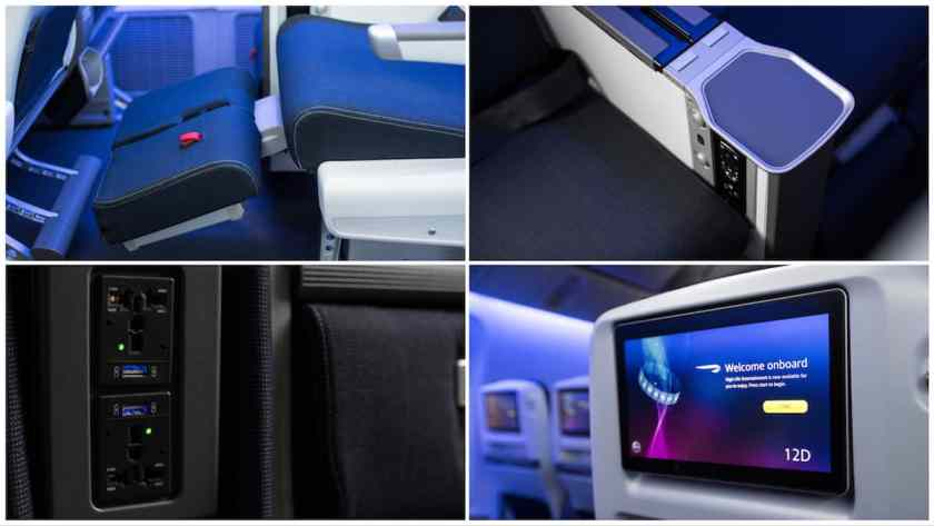 BA World Traveller Plus Seat, London Gatwick based Boeing 777 aircraft