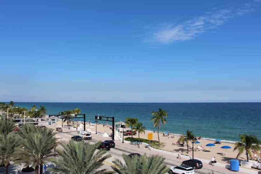 Fort Lauderdale Beach (Image Credit: London Air Travel)