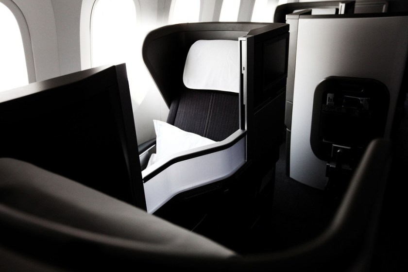 Club World on Boeing 787 Dreamliner