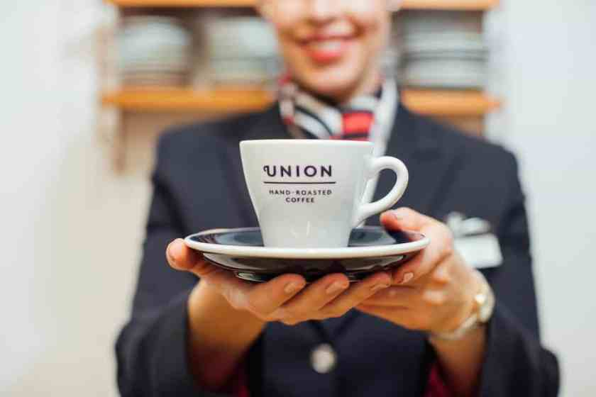 Union Hand-Roasted Coffee on British Airways