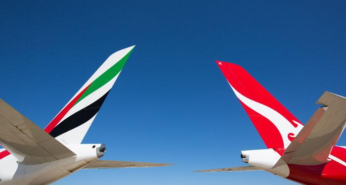 Emirates & Qantas Partnership (Image Credit: Emirates)