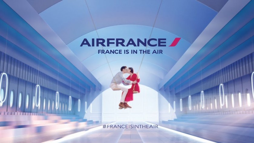France Is In The Air (Image Credit: Air France)
