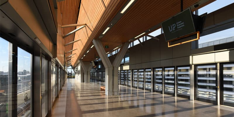 Union Pearson Express Train Pearson Airport Station