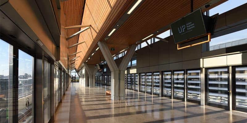 Union Pearson Express Train Pearson Airport Station