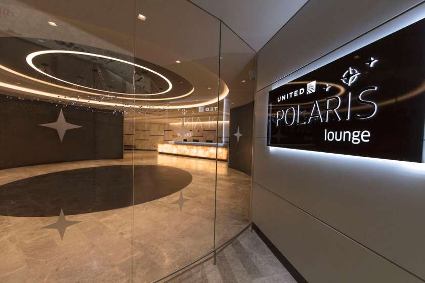 United Polaris Lounge Entrance Newark Liberty International Airport (Image Credit: United Airlines)
