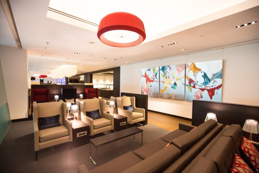 British Airways lounge at Singapore Changi Airport (Image Credit: British Airways)