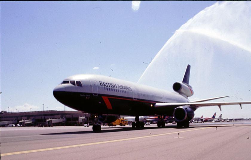 British Airways DC-10 arriving in Phoenix (Image Credit: British Airways)