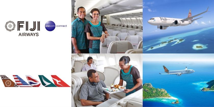 Fiji Airways & Oneworld Connect