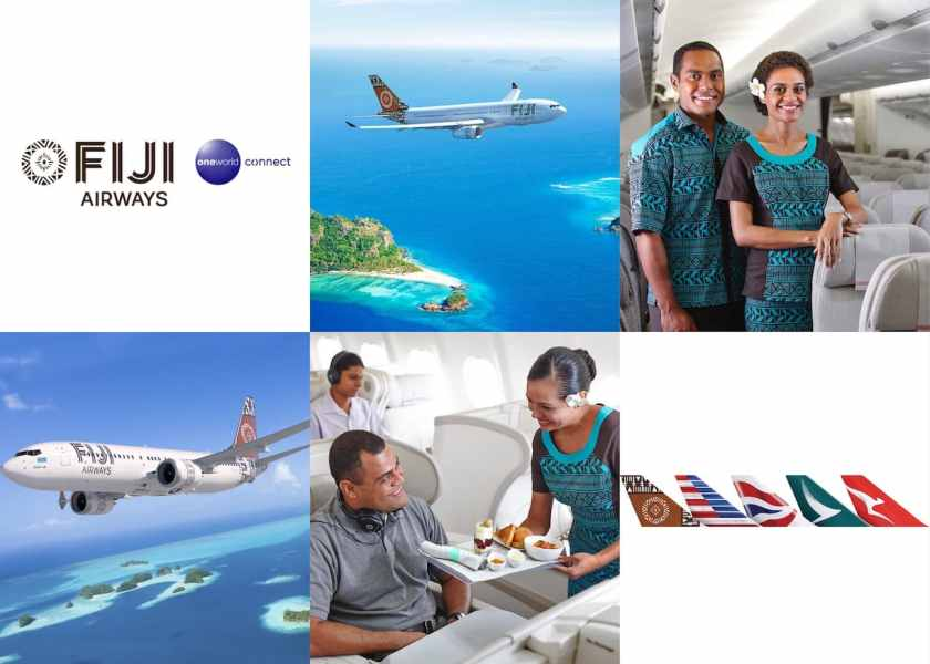 Fiji Airways is to be the inaugural member of Oneworld Connect