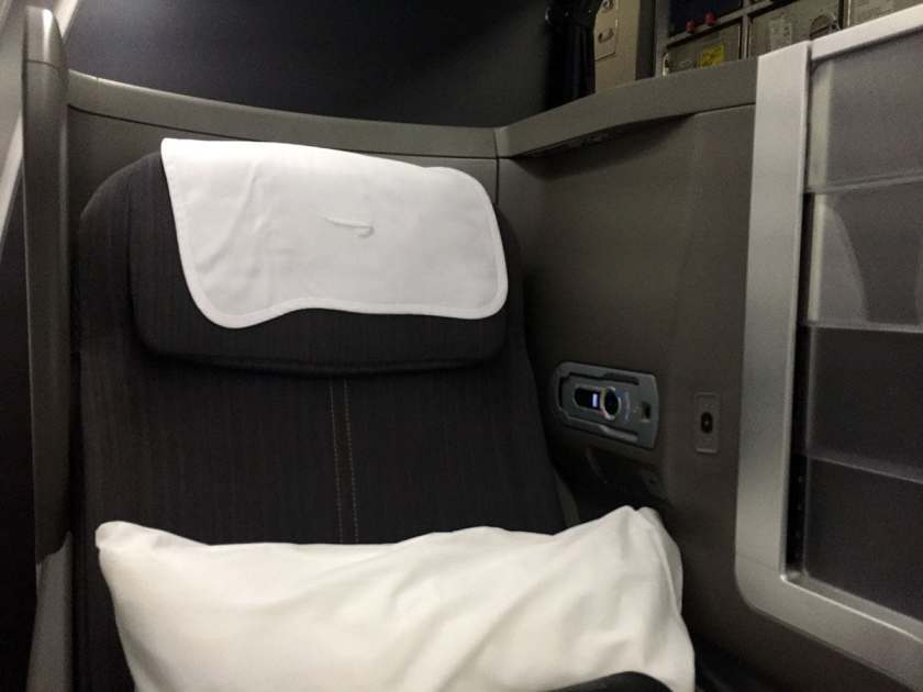 Seat 10A, Club World, BA Boeing 787-9 Dreamliner