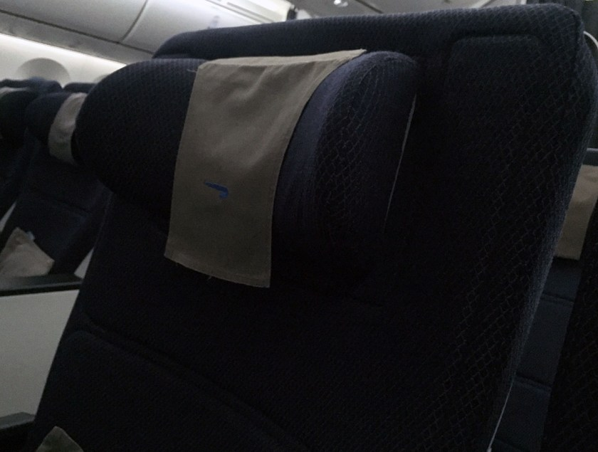 BA World Traveller Plus Seat Boeing 787