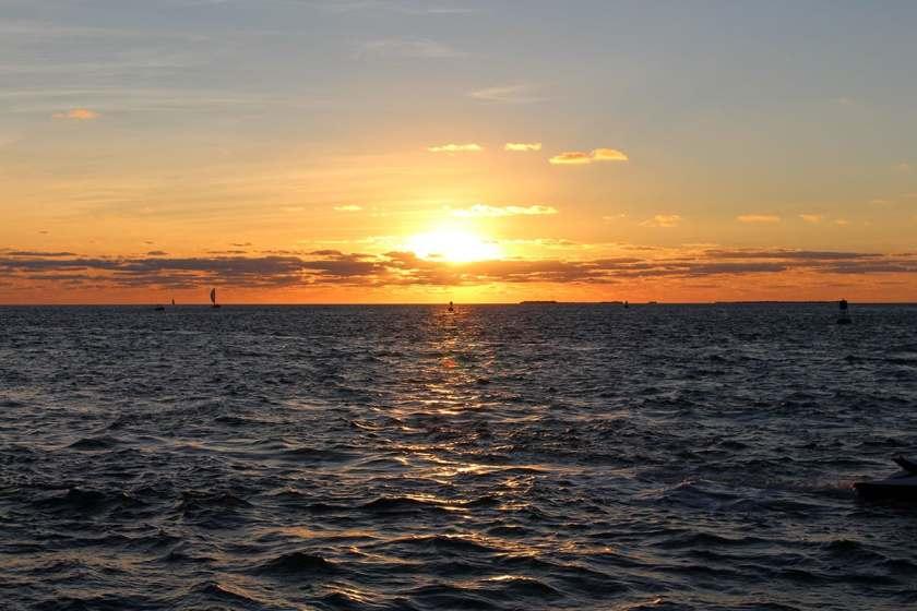 Sunset at the Florida Keys