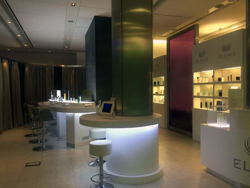LHR T5 Arrivals Lounge Elemis Spa