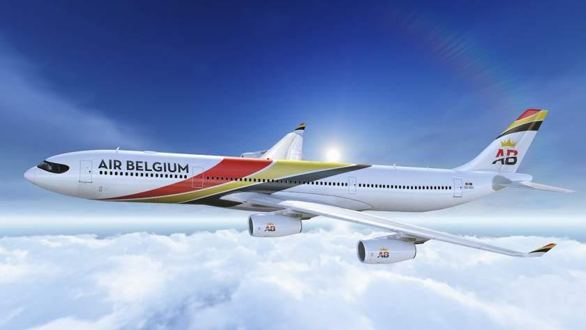 Air Belgium Airbus A340 aircraft