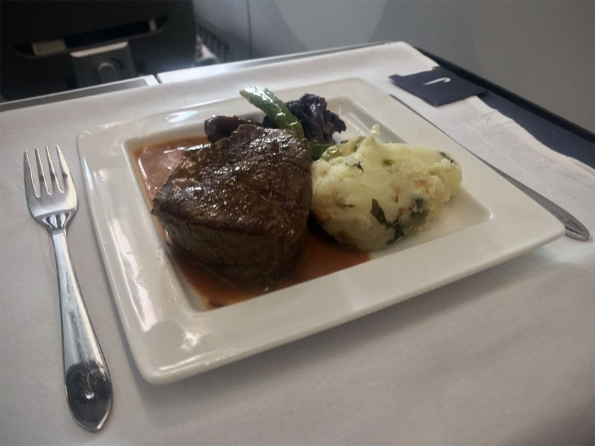BA Club World Main Course June 2017