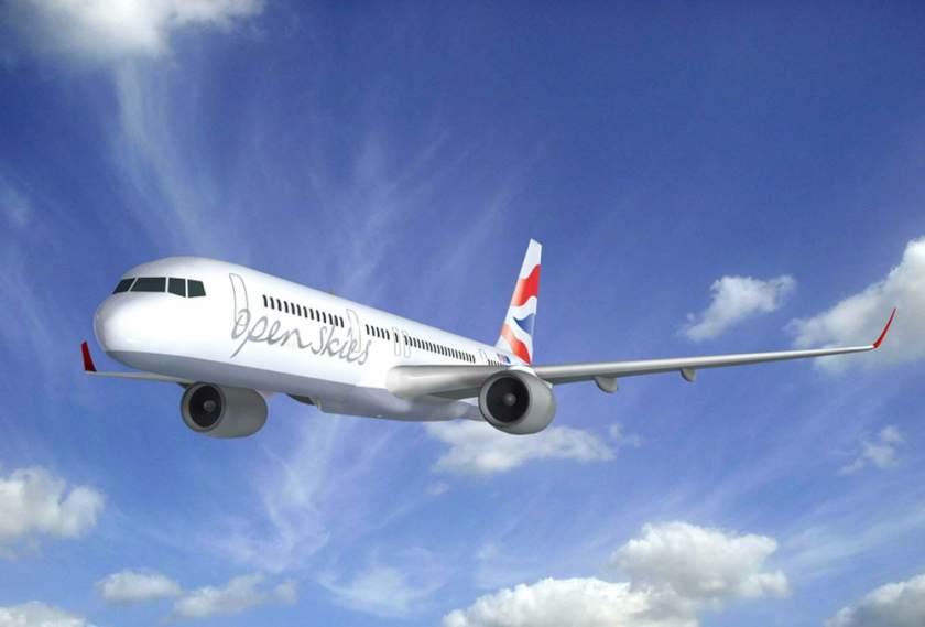 BA OpenSkies Boeing 757 Aircraft