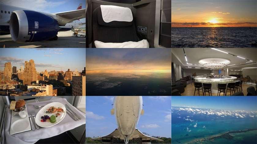 London Air Travel Montage