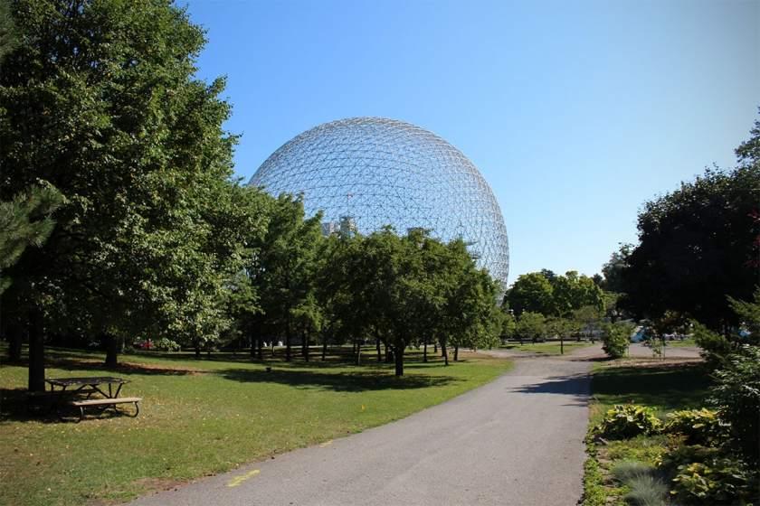 Biosphere, Parc Jean-Drapeau, Montreal