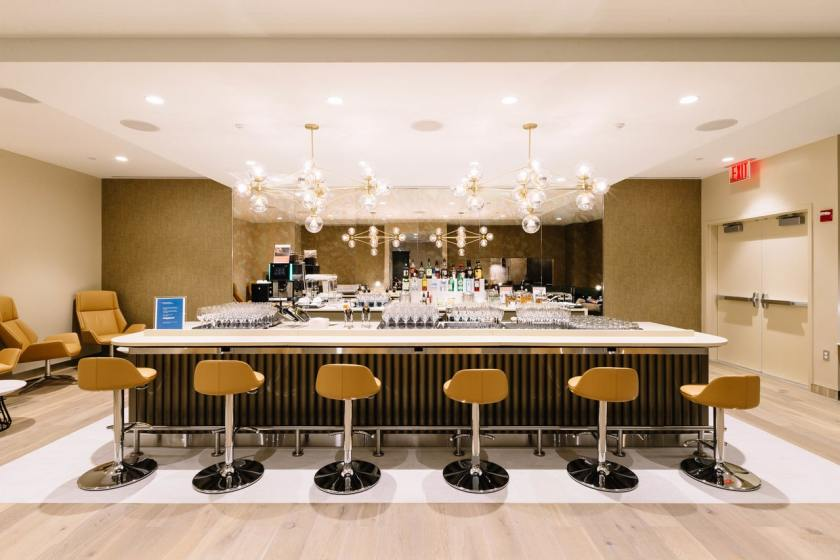 British Airways First Lounge Bar New York JFK Terminal 7