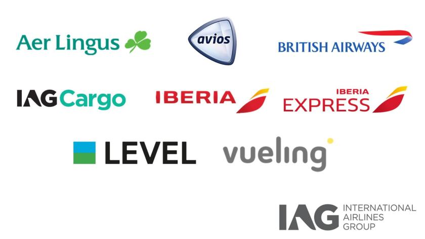 International Airlines Group Airlines & Businesses