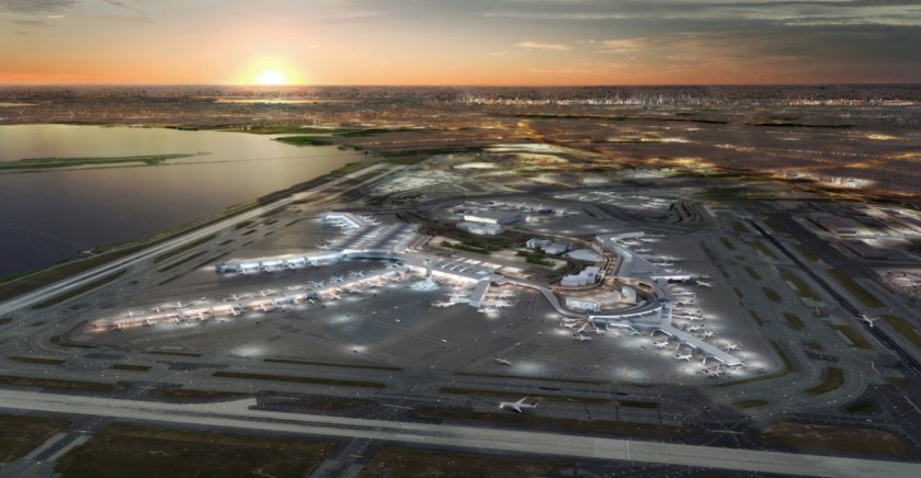 CGI Image of redeveloped New York JFK