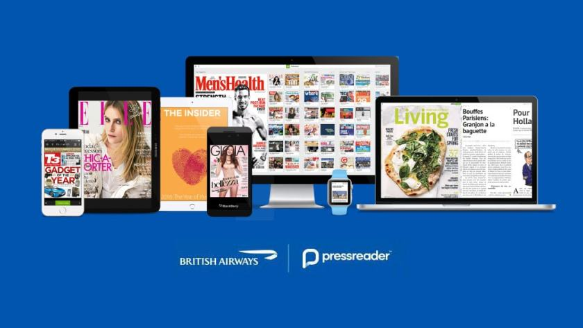 British Airways & PressReader