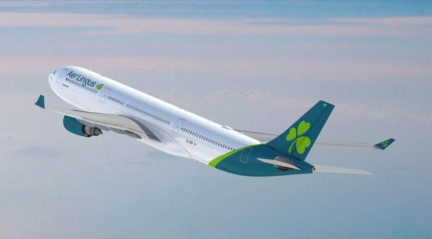 Aer Lingus 2019 Aircraft Livery