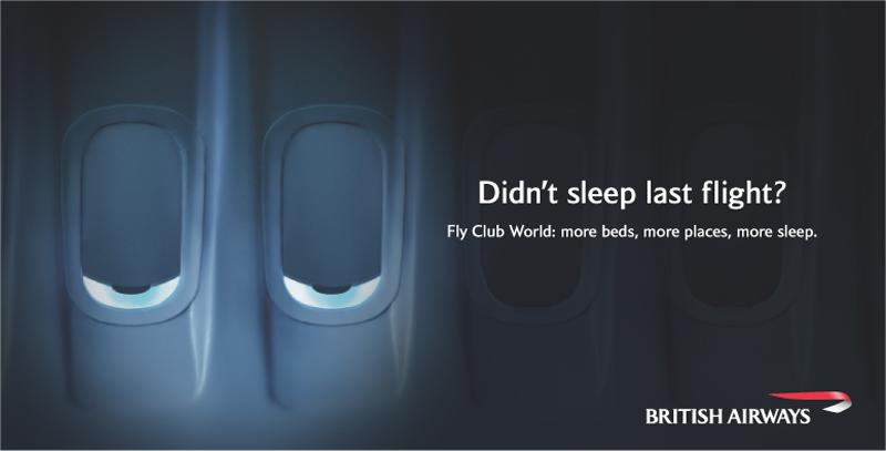 British Airways Club World Advertisement, Early 2000s