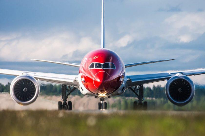 Norwegian Boeing 787 aircraft.
