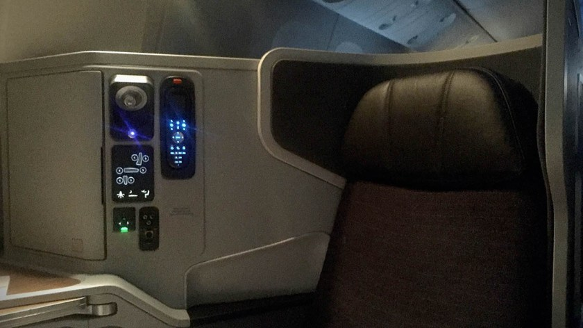 American Airlines Boeing 777-300 Business Class Seat