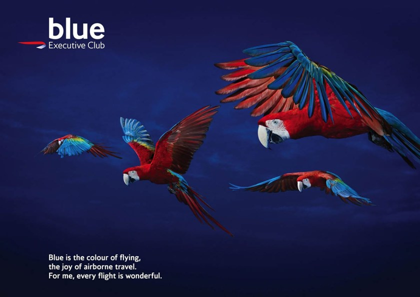 British Airways Executive Club Blue Tier