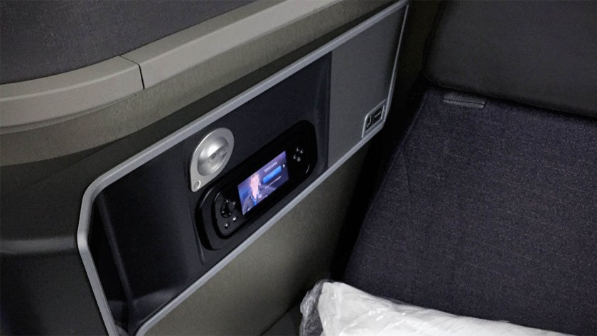 American Airlines Boeing 777-200 Business Class Seat Side Panel