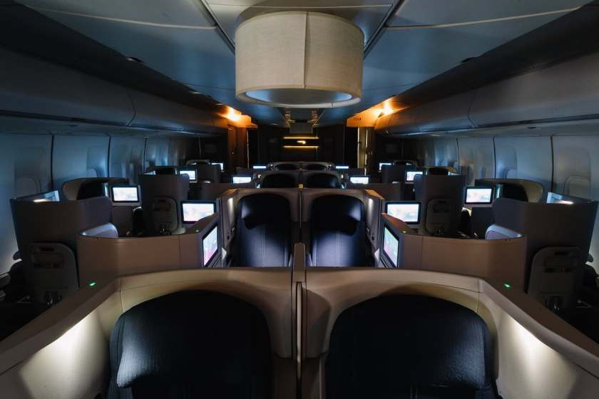 British Airways Refurbished 52 Club World Seat Aircraft, November 2018