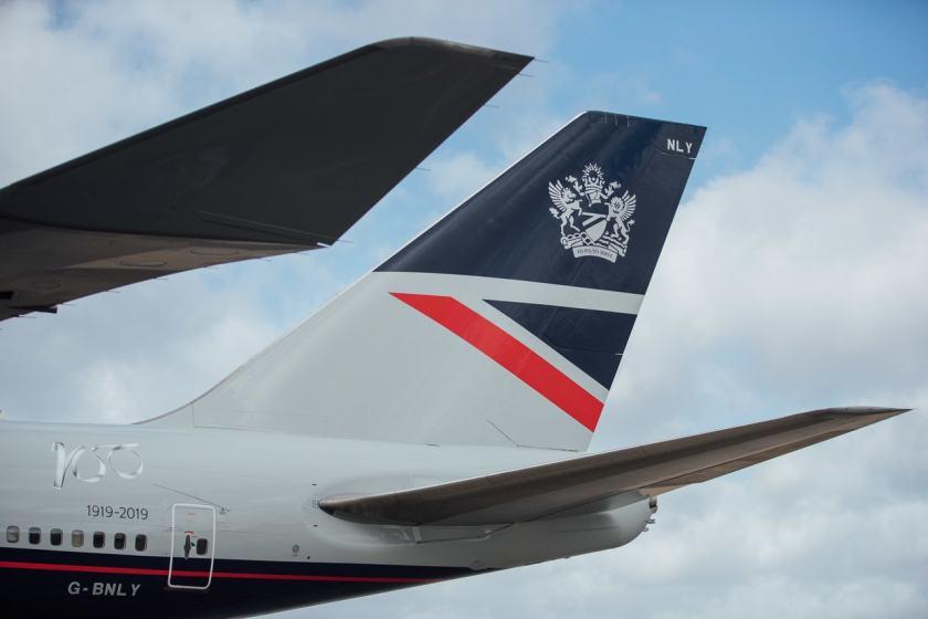 British Airways Boeing 747 G-BNLY