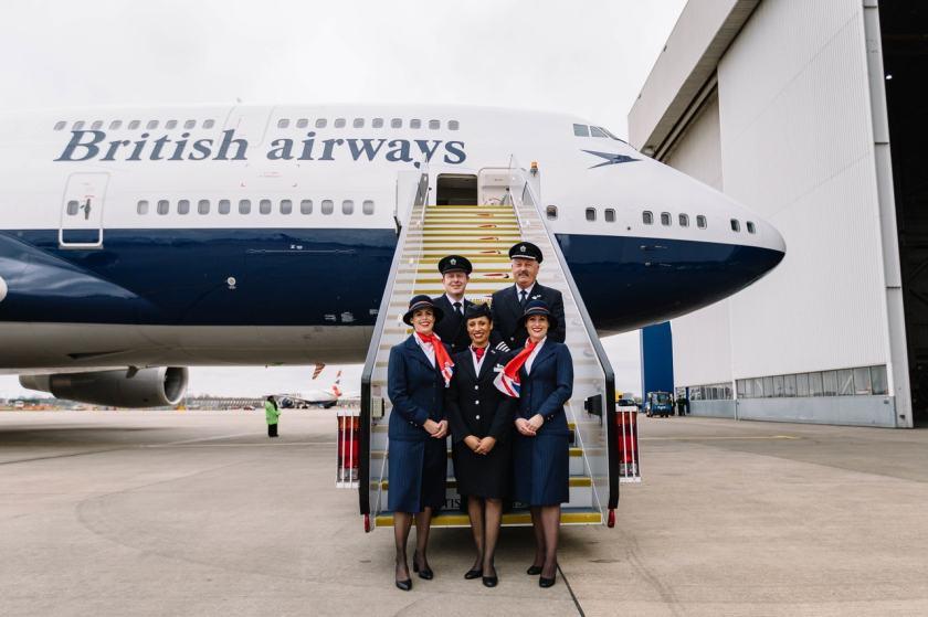 British Airways Boeing 747, Negus Livery, Dublin