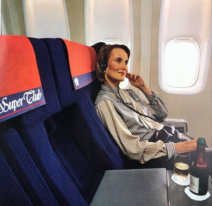 British Airways Super Club Seat