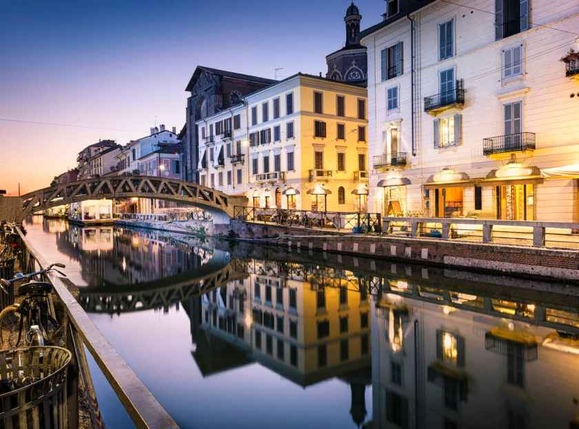 Naviglio Grande Canal, Milan