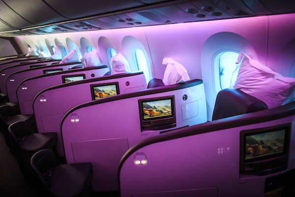 Virgin Atlantic Upper Class Suite Boeing 787-9 Aircraft