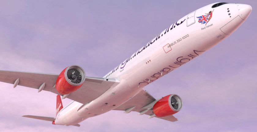 Virgin Atlantic Airbus A350-1000 aircraft