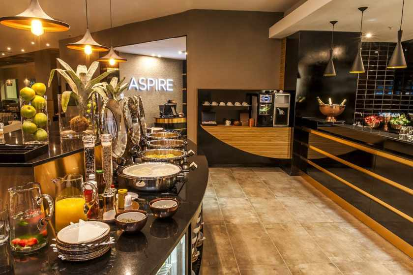 Aspire lounge, O.R. Tambo International Airport International Departures Terminal, Johannesburg