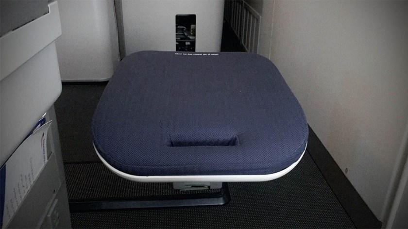 British Airways Club World Cabin Boeing 747 Foot Rest