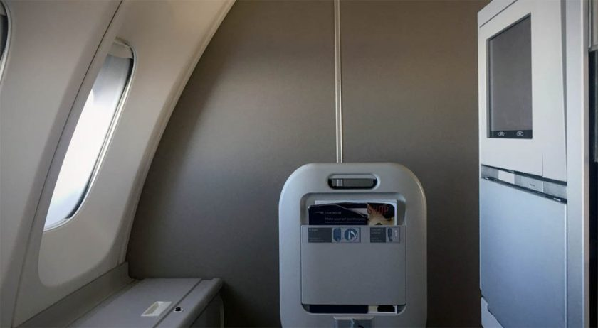 Seat 64K, British Airways Club World, Boeing 747 Upper Deck